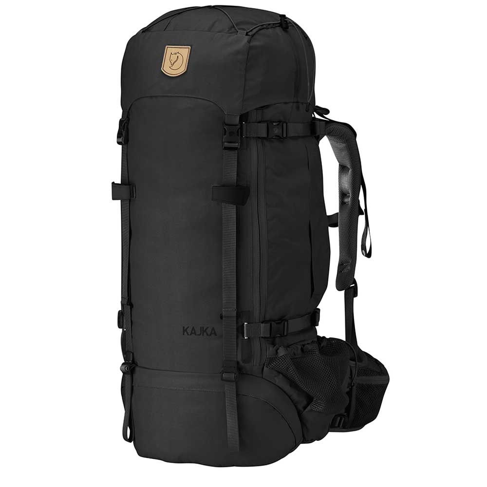 Fjallraven Kajka 65 W black backpack