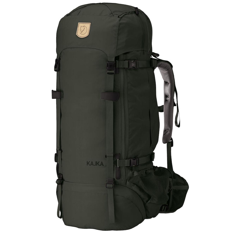 Fjallraven Kajka 75 forest green backpack <br/>€ 374.00 <br/> <a href='https://tc.tradetracker.net/?c=15082&m=779702&a=107398&u=http%3A%2F%2Fwww.travelbags.nl%3A80%2Ffjallraven-kajka-75-forest-green.html' target='_blank'>Bestellen</a>