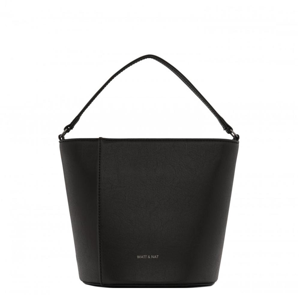 Matt & Nat Vintage Orr Crossbody Bucket Bag black Damestas