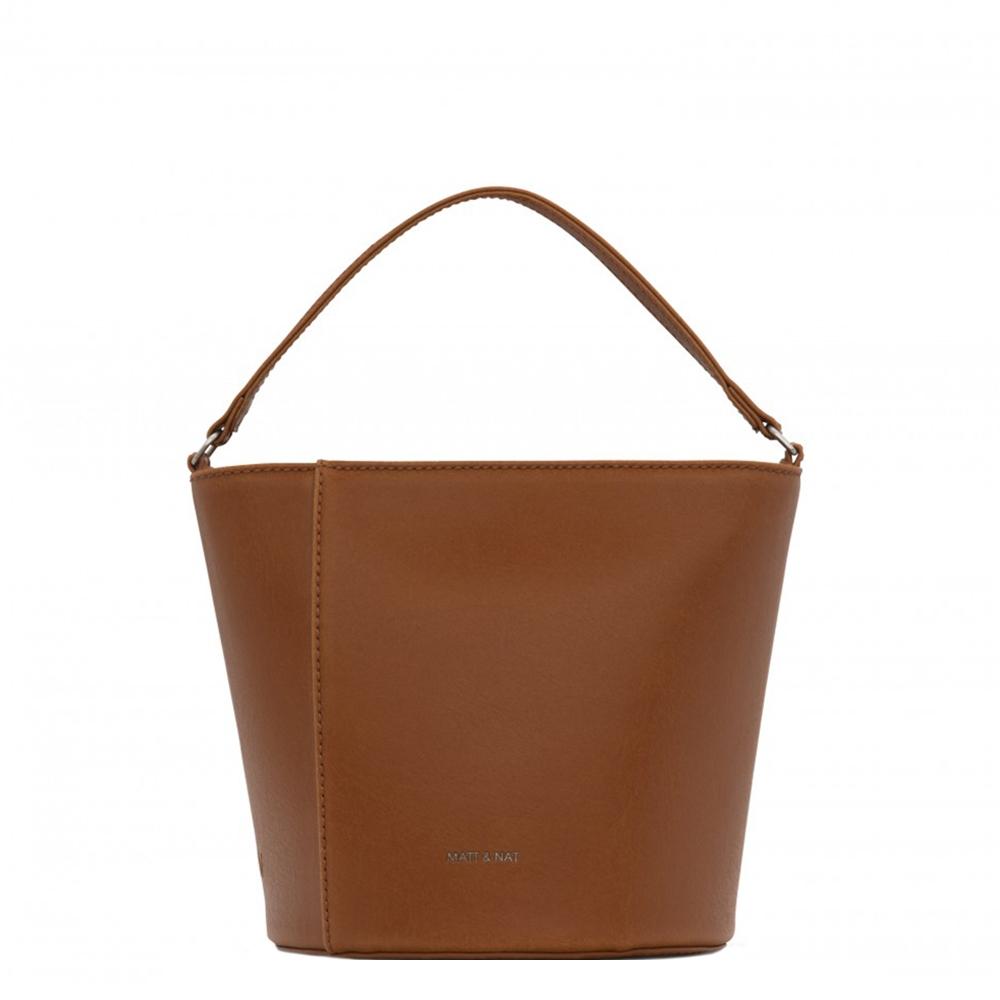 Matt & Nat Vintage Orr Crossbody Bucket Bag chili matte nickel Damestas