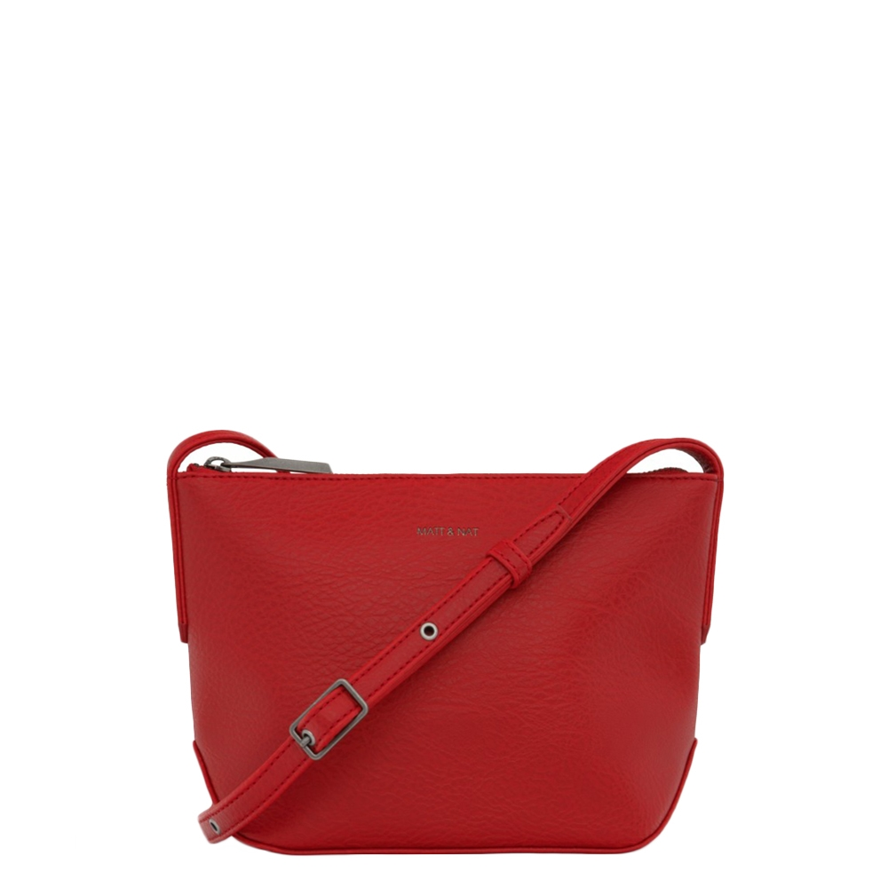 Matt & Nat Dwell Sam Crossbody Bag red Damestas