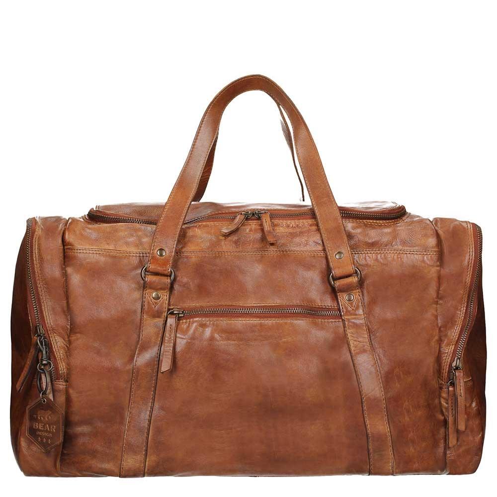 Bear Design Cow Lavato Weekendtas cognac Weekendtas <br/>€ 234.00 <br/> <a href='https://tc.tradetracker.net/?c=15082&m=779702&a=107398&u=http%3A%2F%2Fwww.travelbags.nl%3A80%2Fbear-design-cow-lavato-weekendtas-cognac.html' target='_blank'>Bestellen</a>