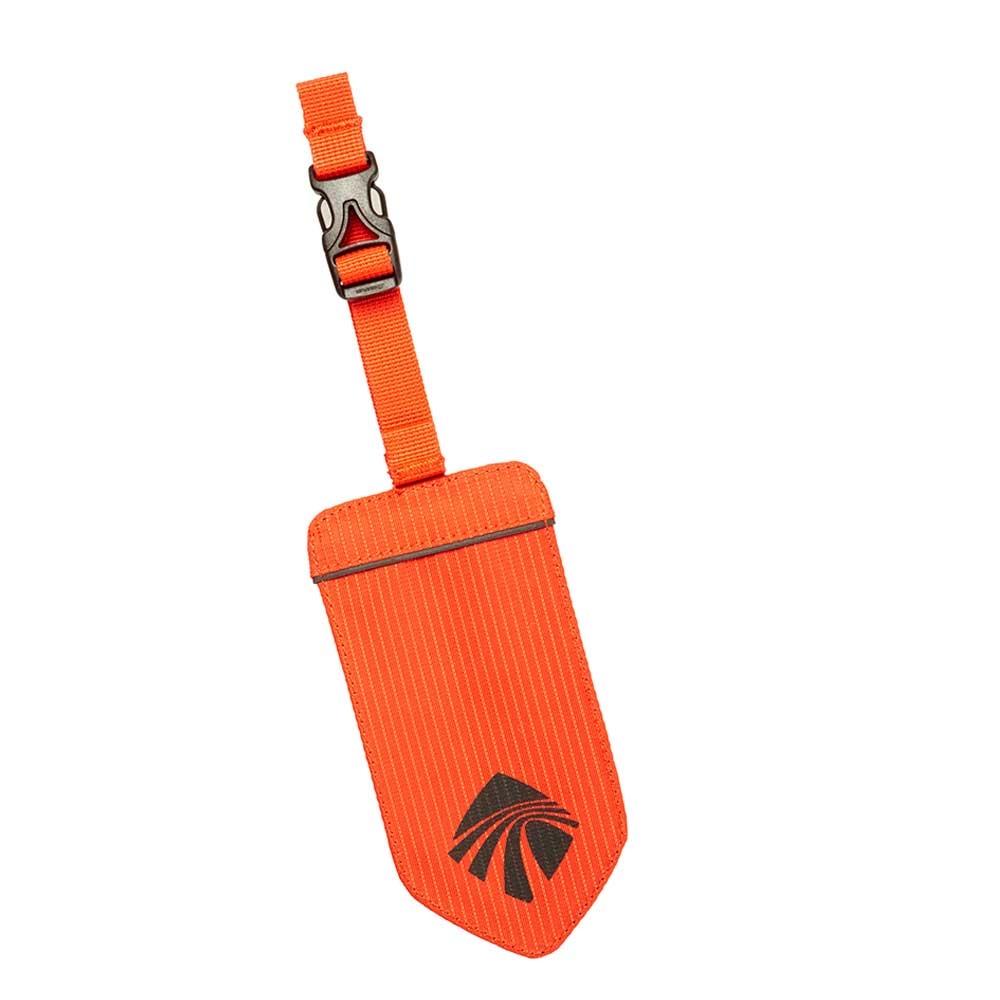 Eagle Creek Necessities Reflective Luggage Tag flame orange - 1