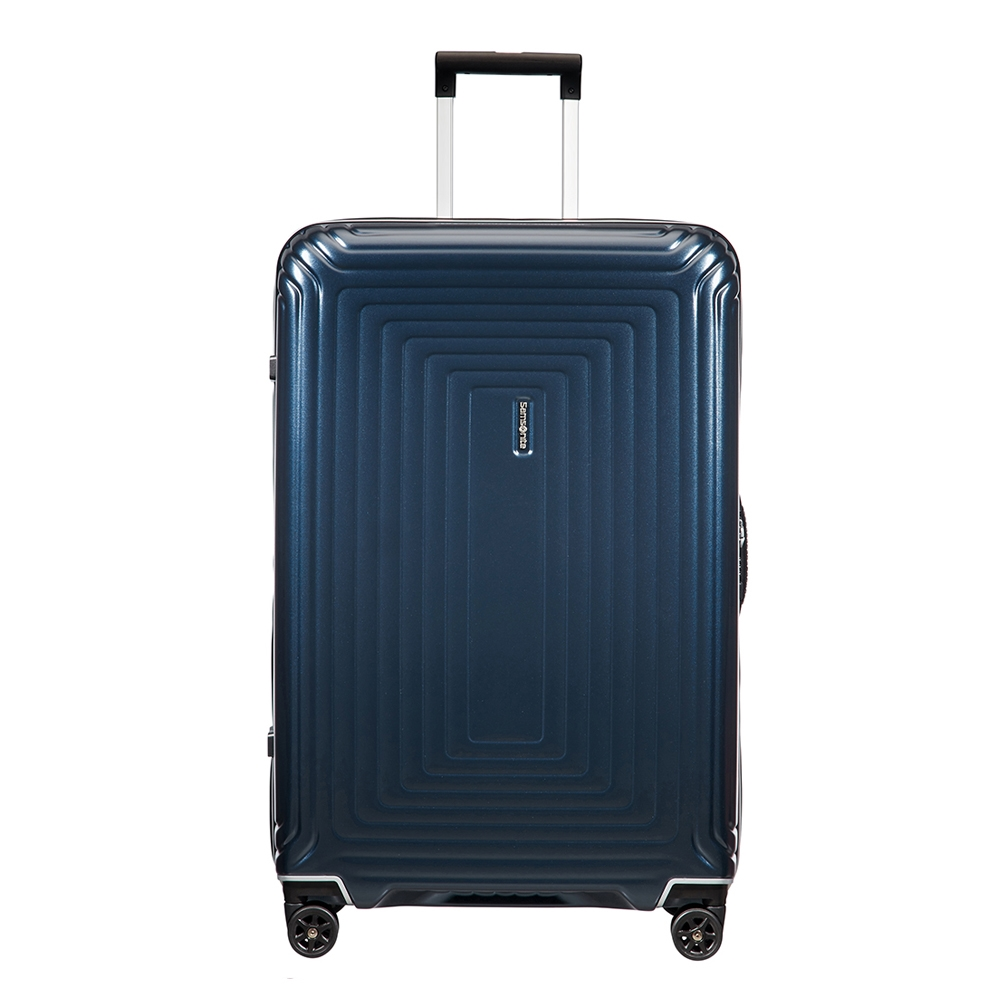 Samsonite Neopulse DLX Spinner 75 matte midnight blue Harde Koffer <br/></noscript><img class=