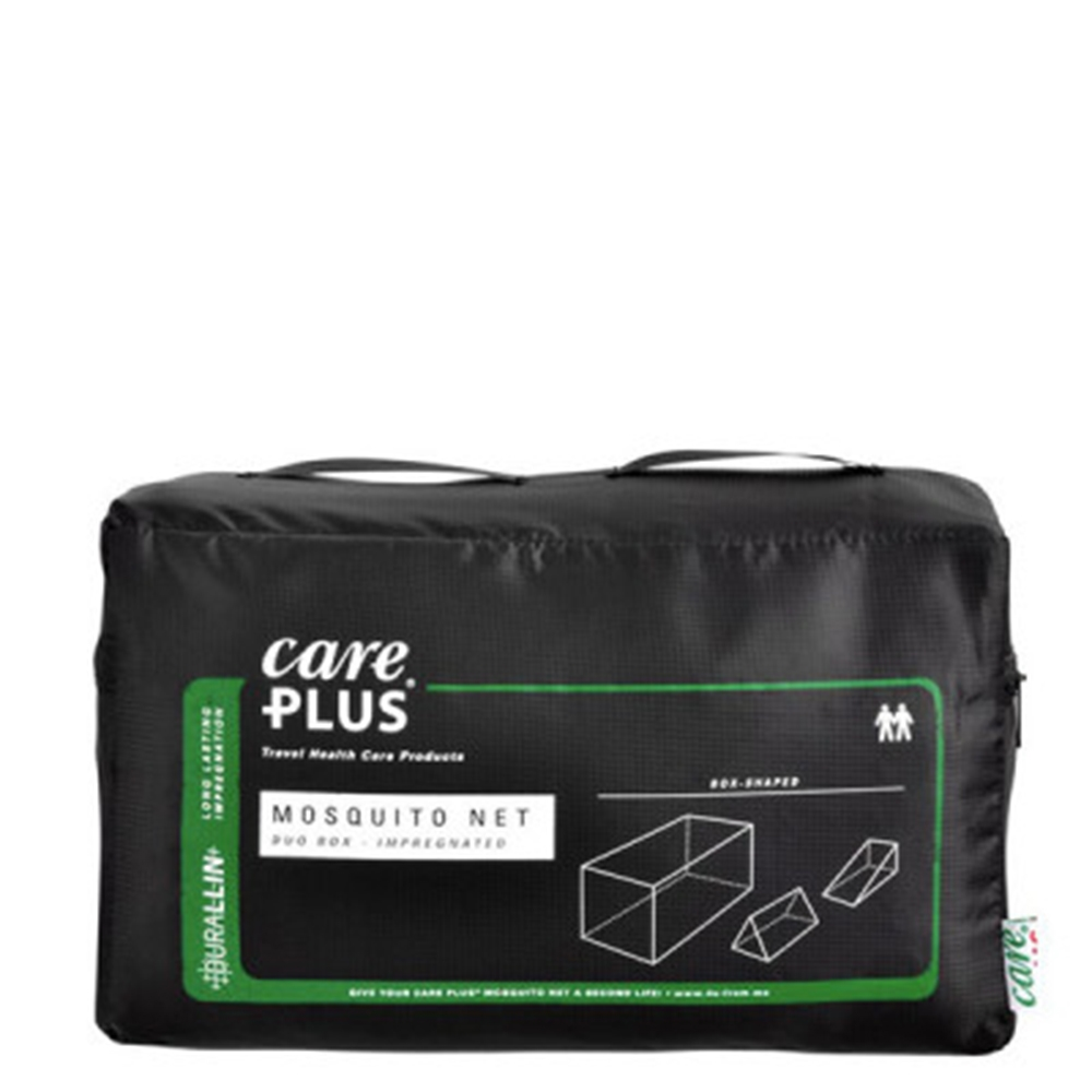 Care Plus Muskietennet Klamboe Duo Box geimpregneerd 2pers transparant - 1