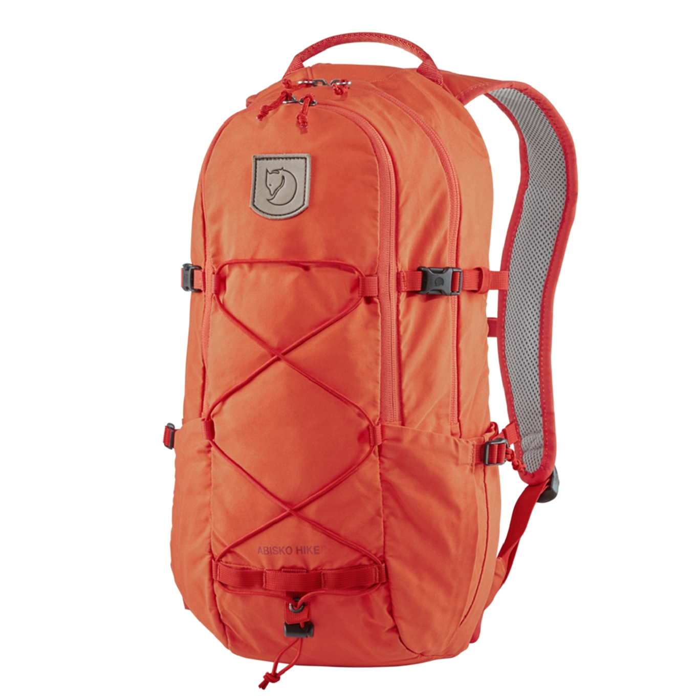 Fjallraven Abisko Hike 15 flame orange backpack