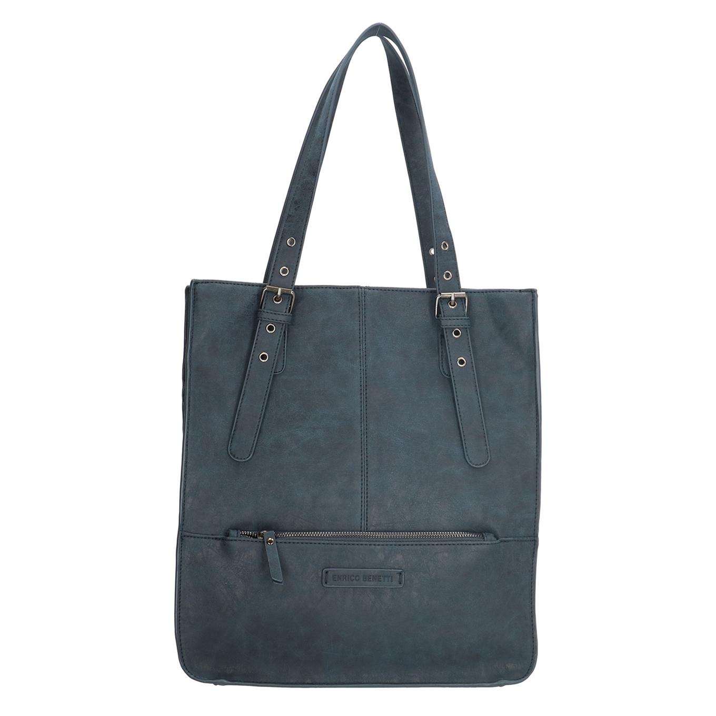 Enrico Benetti Noumea Dames Shopper blauw - 1