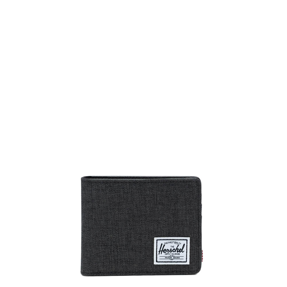 Herschel Supply Co. Hank Pashouder RFID black crosshatch-black