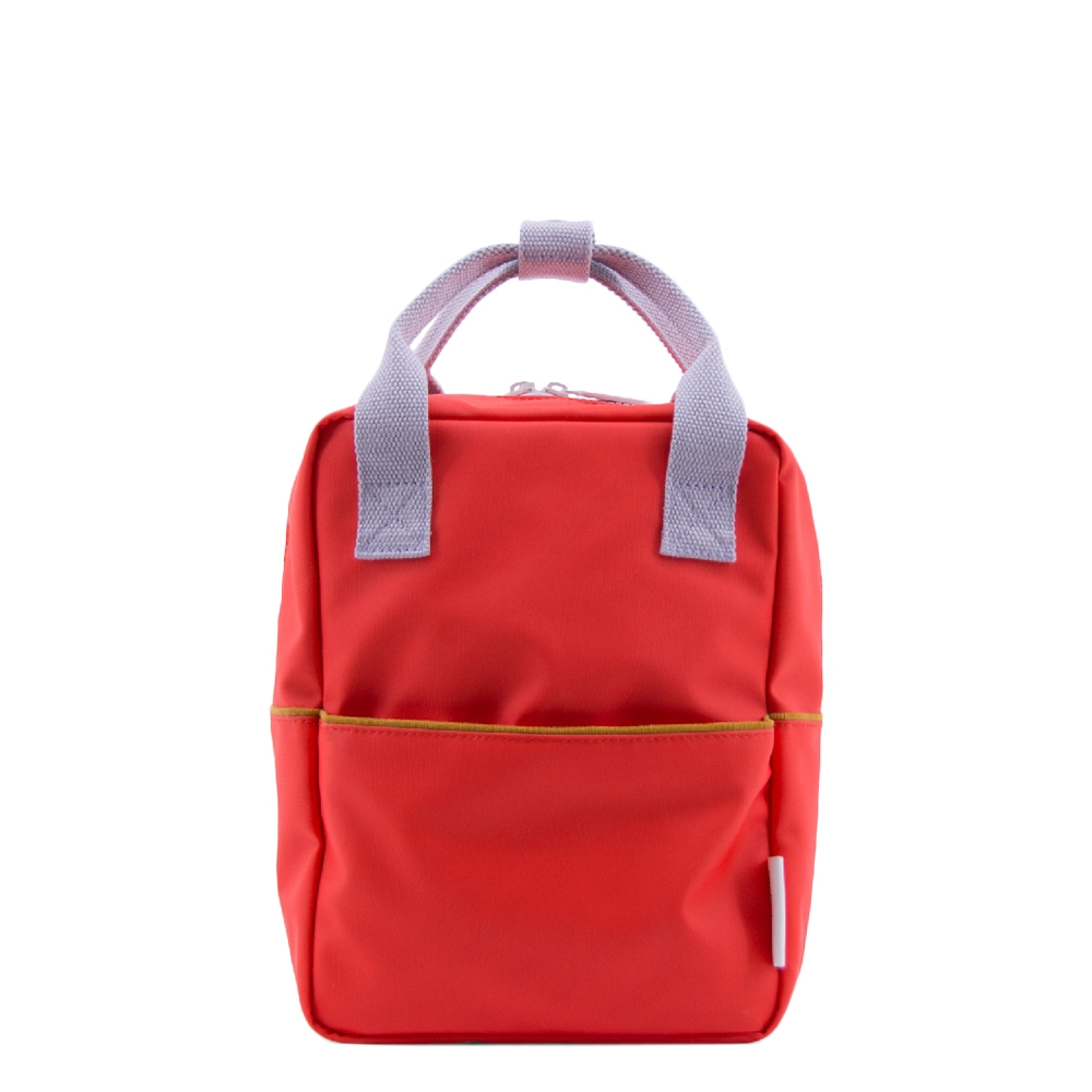 Sticky Lemon Corduroy Backpack Small sporty red Kindertas