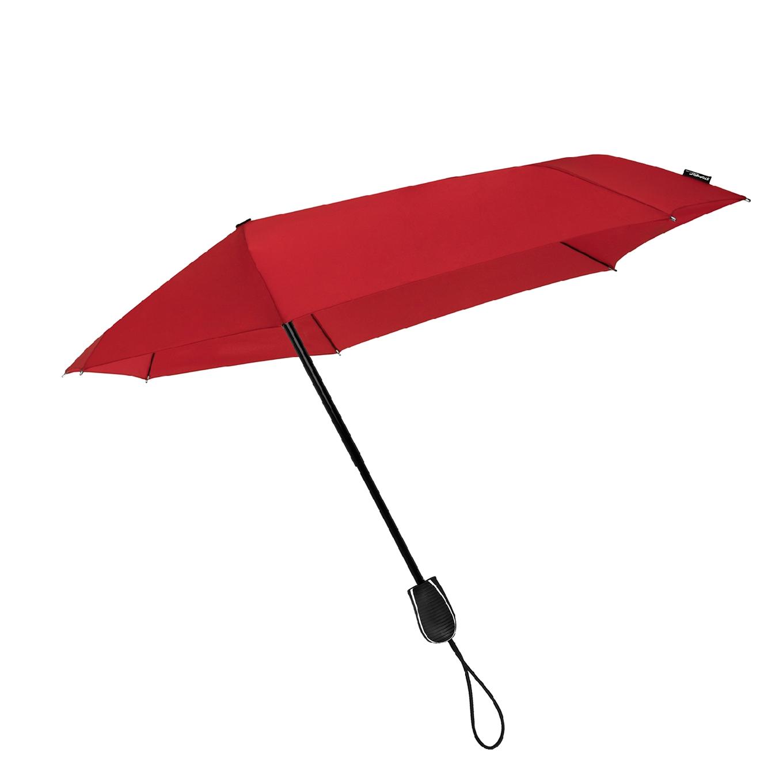 Impliva STORMini Aërodynamische Opvouwbare Stormparaplu rood (Storm) Paraplu