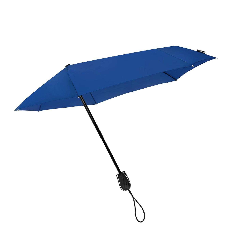 Impliva STORMini Aërodynamische Opvouwbare Stormparaplu kobalt blauw (Storm) Paraplu