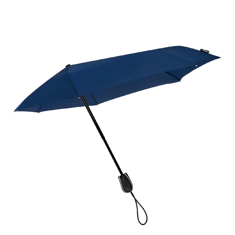 Impliva STORMini Aërodynamische Opvouwbare Stormparaplu donker blauw (Storm) Paraplu