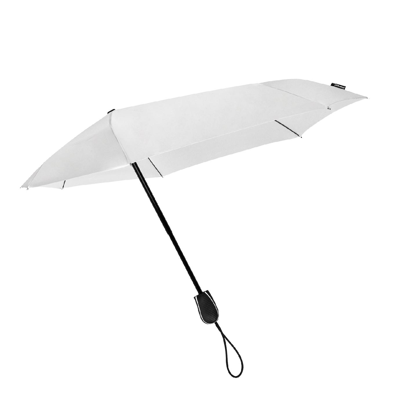 Impliva STORMini Aërodynamische Opvouwbare Stormparaplu wit2 (Storm) Paraplu
