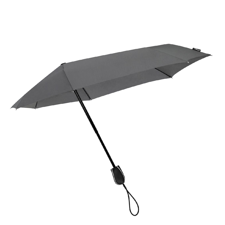 Impliva STORMini Aërodynamische Opvouwbare Stormparaplu cool grijs (Storm) Paraplu