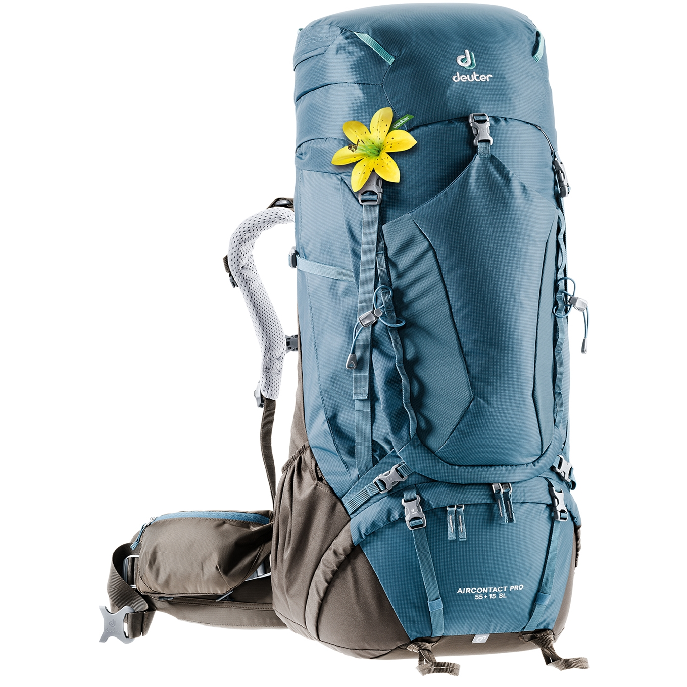Deuter Aircontact Pro 55 + 15 SL arctic/coffee backpack <br/></noscript><img class=