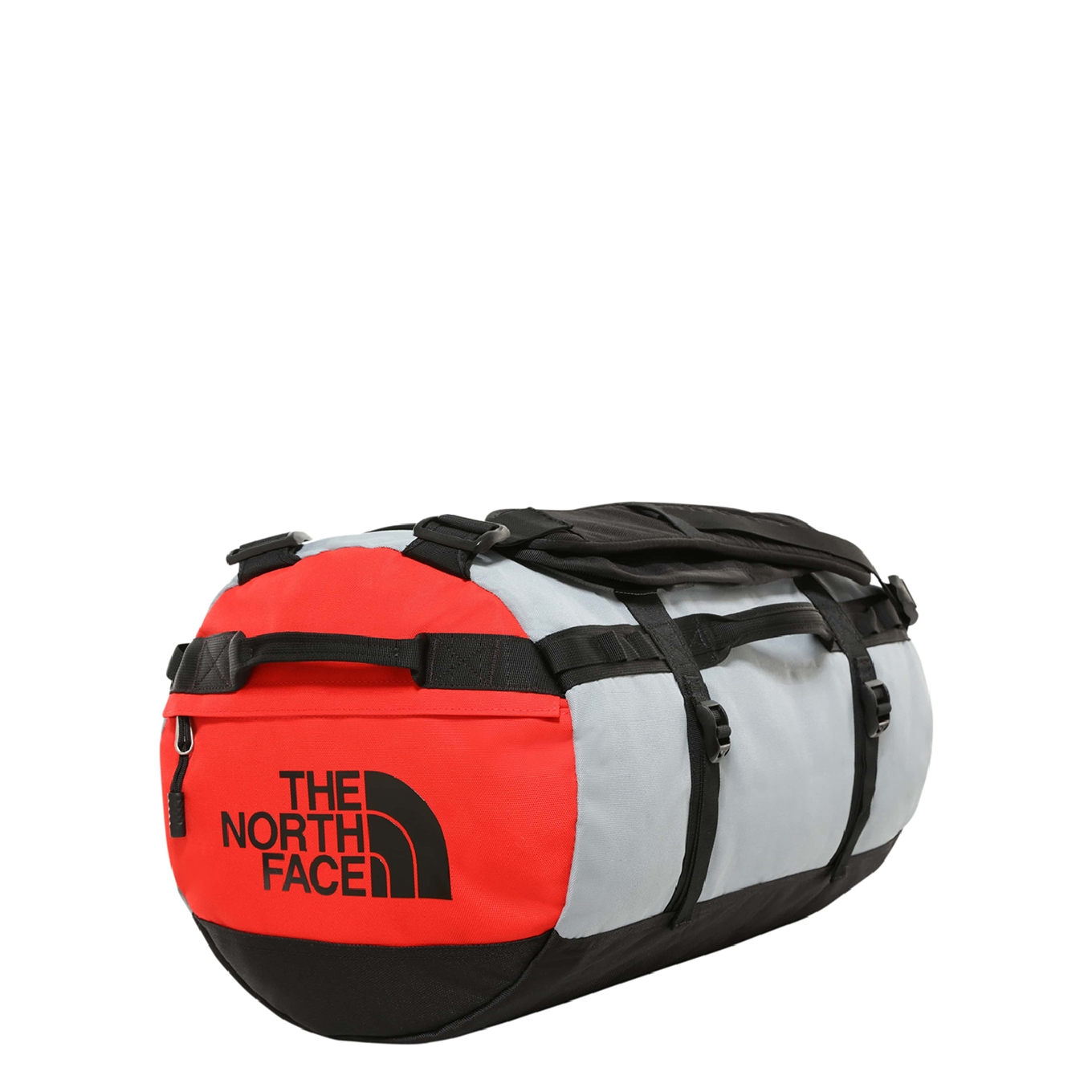 The North Face Gilman Duffel S tnf black / mid grey / fiery red Weekendtas <br/></noscript><img class=
