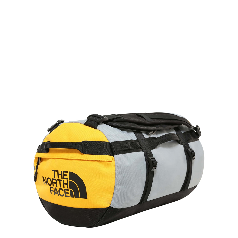 The North Face Gilman Duffel S tnf black / mid grey / tnf yellow Weekendtas <br/></noscript><img class=
