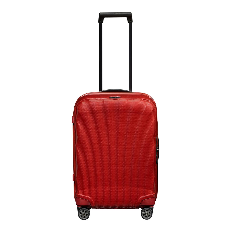 Samsonite C-Lite Spinner 55 chili red Harde Koffer <br/></noscript><img class=