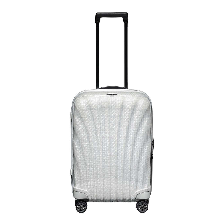 Samsonite C-Lite Spinner 55 off white Harde Koffer <br/></noscript><img class=