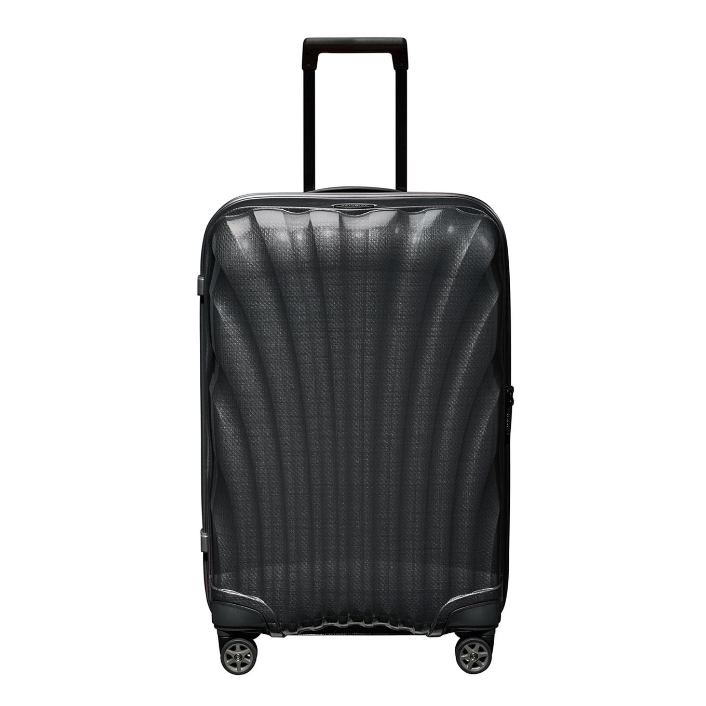 Samsonite C-Lite Spinner 69 black Harde Koffer <br/></noscript><img class=
