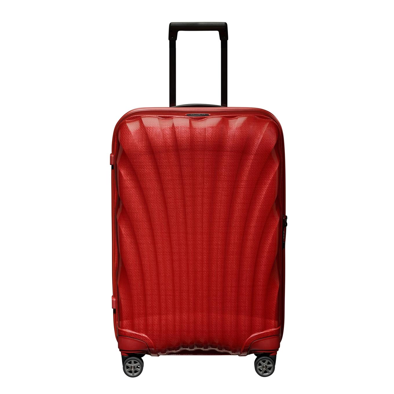 Samsonite C-Lite Spinner 69 chili red Harde Koffer <br/></noscript><img class=
