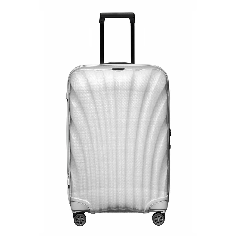 Samsonite C-Lite Spinner 69 off white Harde Koffer <br/></noscript><img class=