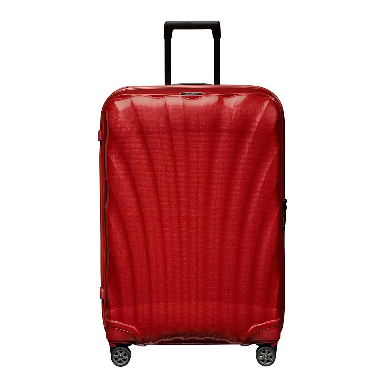 Samsonite C-Lite Spinner 75 chili red Harde Koffer <br/></noscript><img class=
