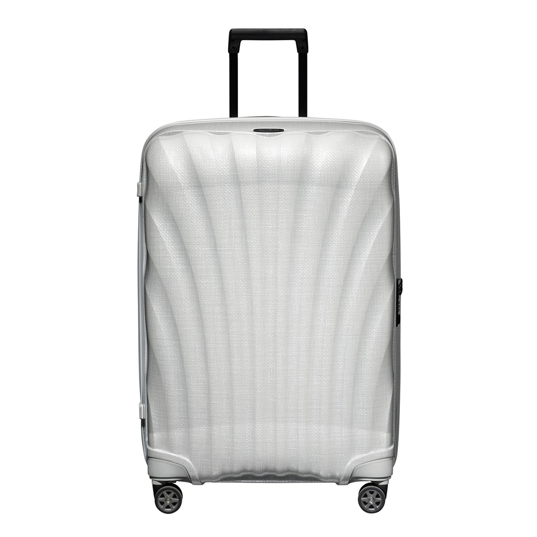 Samsonite C-Lite Spinner 75 off white Harde Koffer <br/></noscript><img class=
