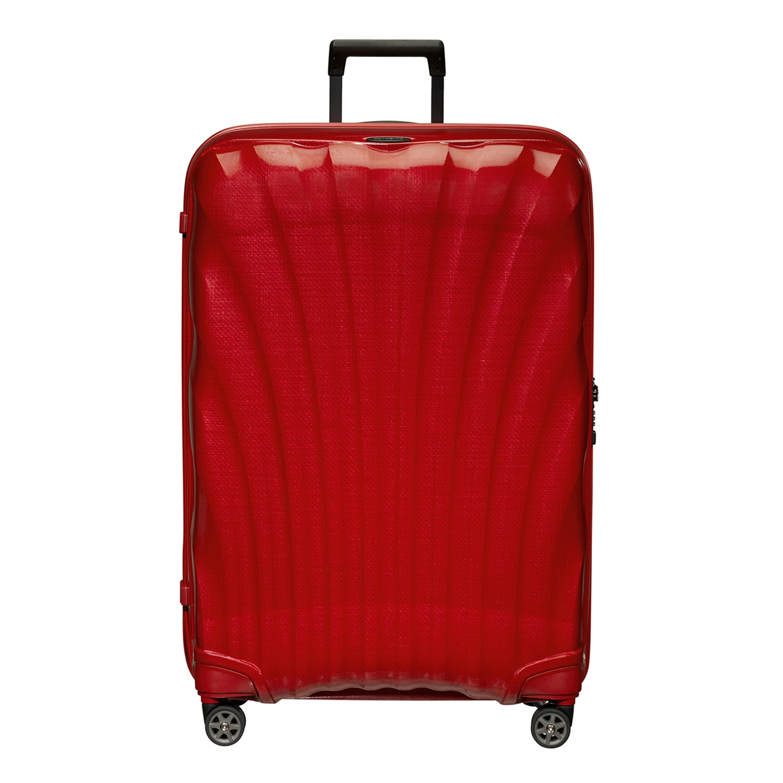 Samsonite C-Lite Spinner 81 chili red Harde Koffer <br/></noscript><img class=