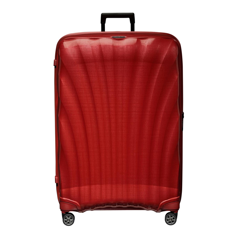 Samsonite C-Lite Spinner 86 chili red Harde Koffer <br/></noscript><img class=