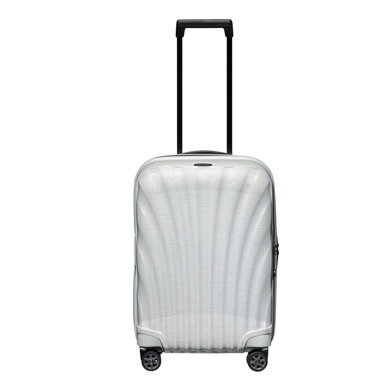 Samsonite C-Lite Spinner 55 Exp off white Harde Koffer <br/></noscript><img class=