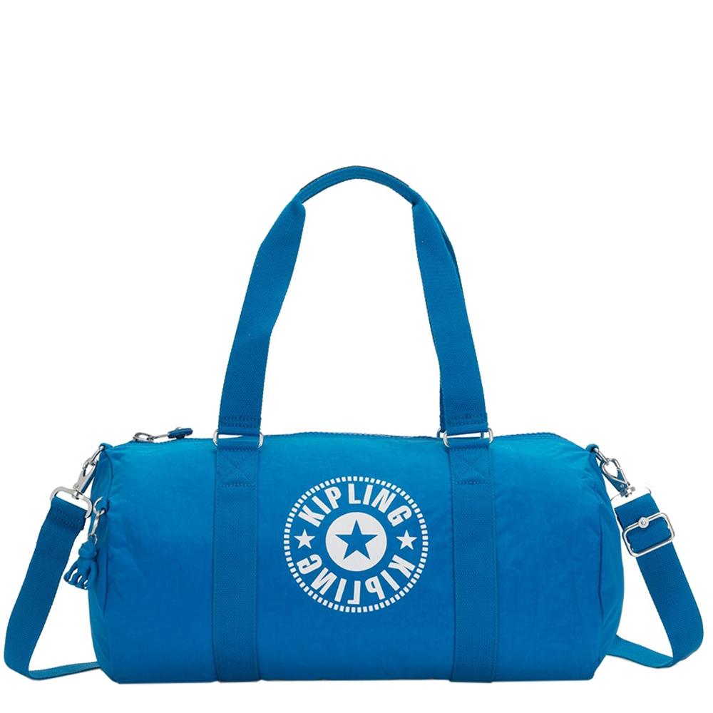 Kipling Onalo New Classics Sporttas methyl blue nc Weekendtas <br/>€ 64.00 <br/> <a href='https://tc.tradetracker.net/?c=15082&m=779702&a=107398&u=http%3A%2F%2Fwww.travelbags.nl%3A80%2Fkipling-onalo-new-classics-sporttas-methyl-blue-nc.html' target='_blank'>Bestellen</a>