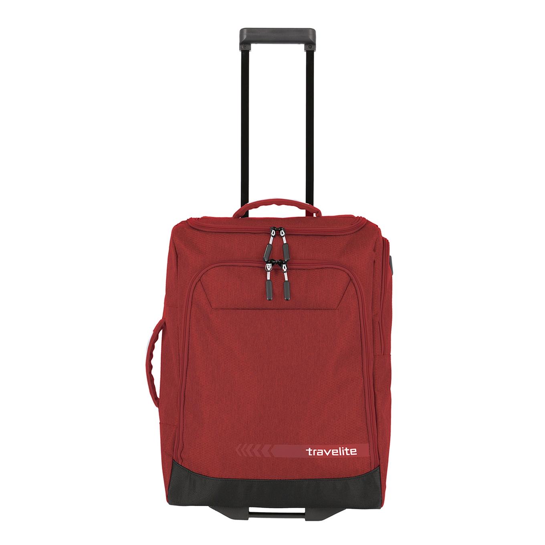 Travelite Kick Off Wheeled Duffle S red Handbagage koffer Trolley