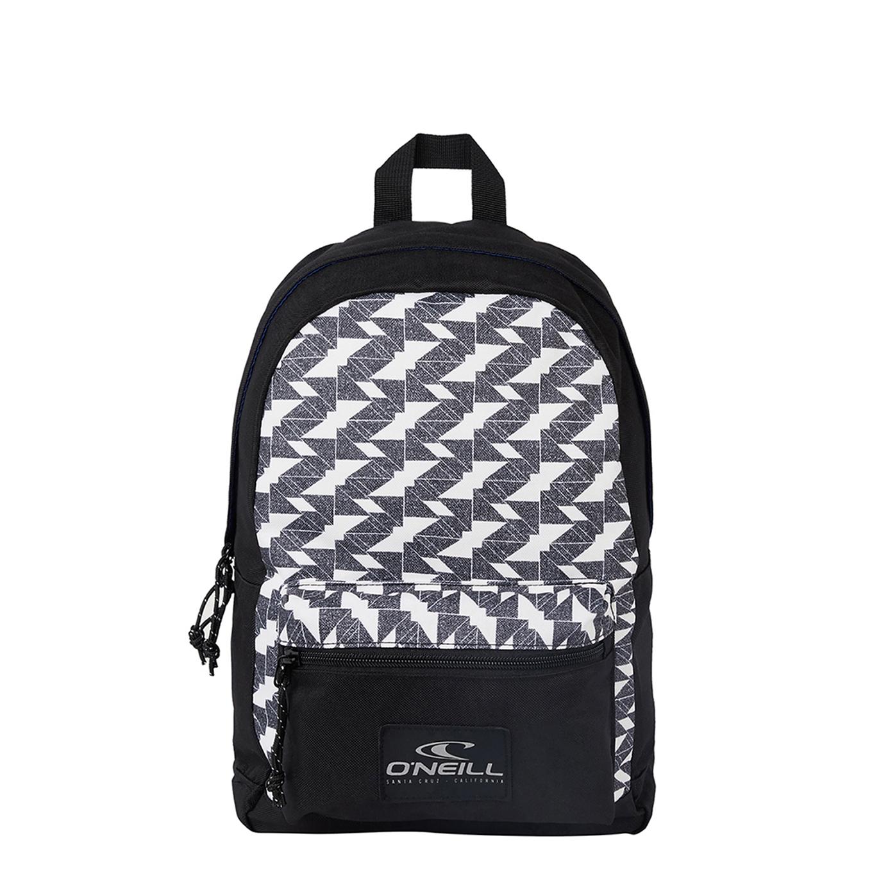 O'Neill Coastline mini Backpack white aop/black