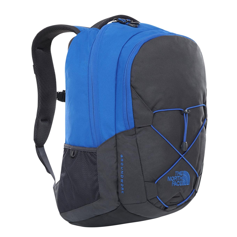 The North Face Groundwork Backpack monster blue / ashpalt grey backpack