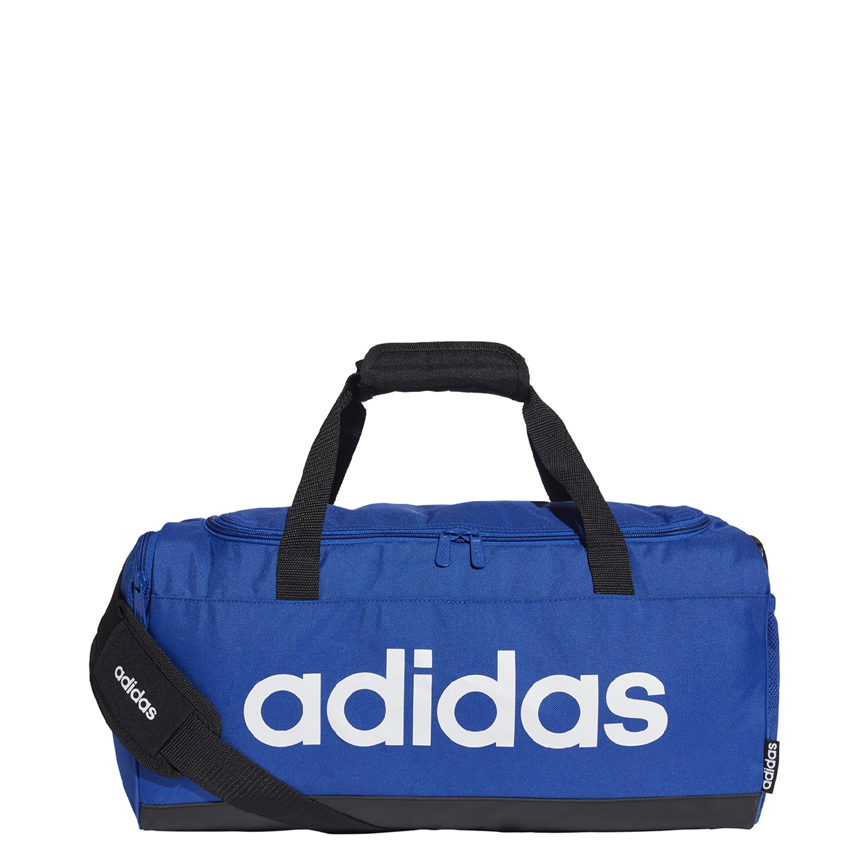 Adidas Training Linear Logo Duffle Bag S royal blue <br/></noscript><img class=