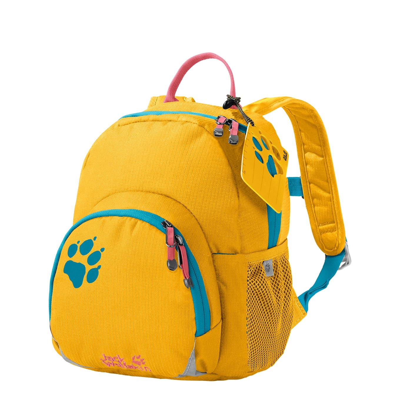Jack Wolfskin Buttercup Kids Rugzak burly yellow XT Kindertas