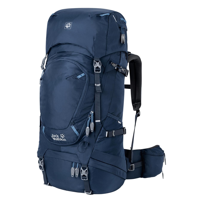 Jack Wolfskin Highland Trail 55 Trekkingsrugzak Dames Indigoblauw