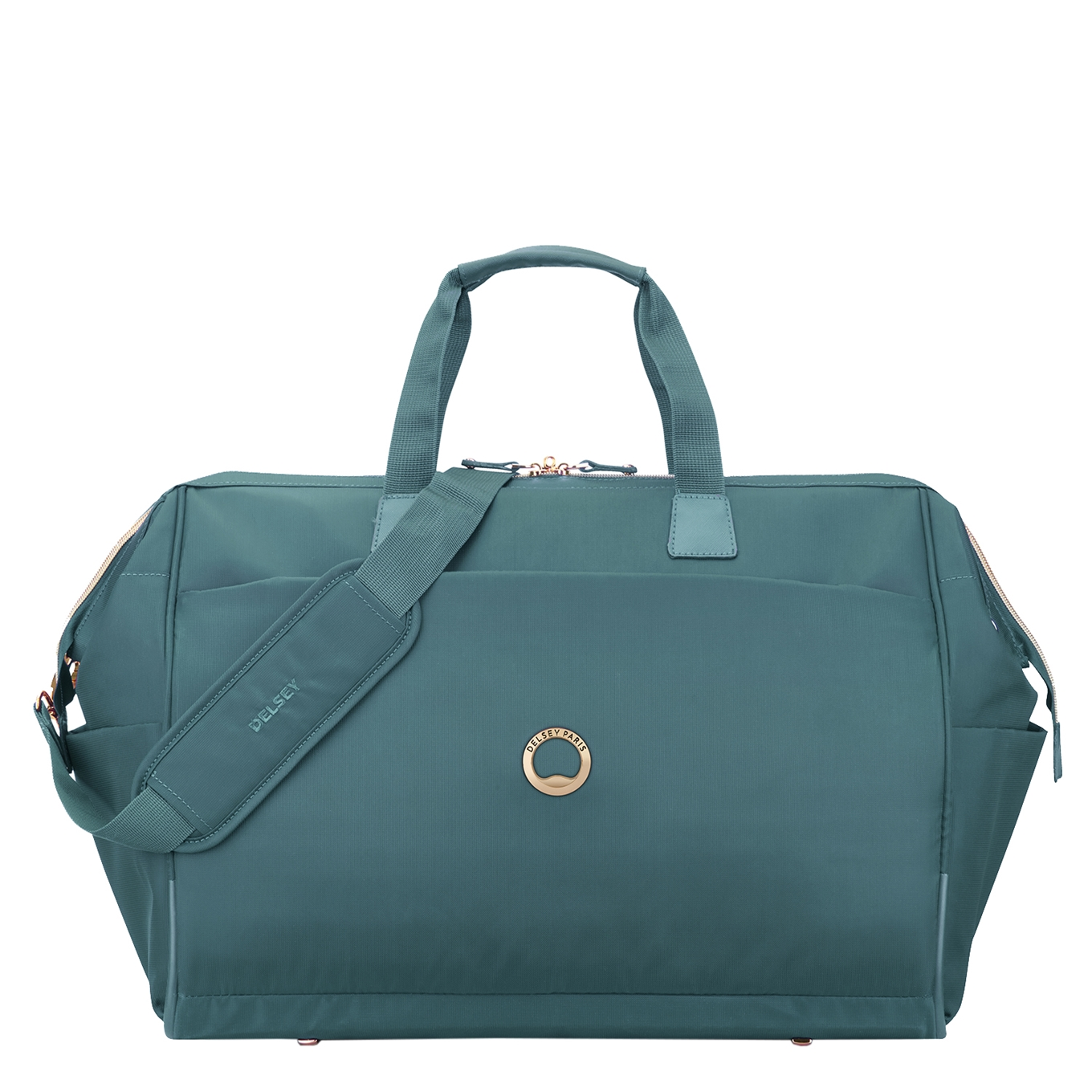 Delsey Montrouge Cabin Duffle Bag green Weekendtas <br/></noscript><img class=