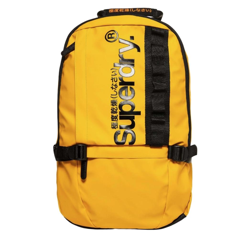 Superdry Tarp Slim Line Backpack yellow backpack