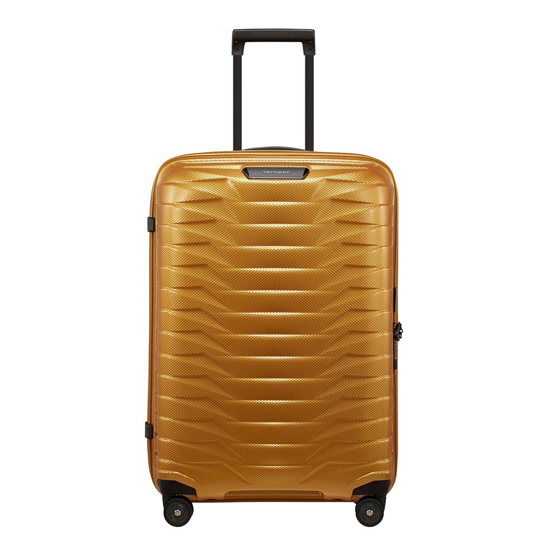 Samsonite Proxis Spinner 69 honey gold Harde Koffer <br/></noscript><img class=