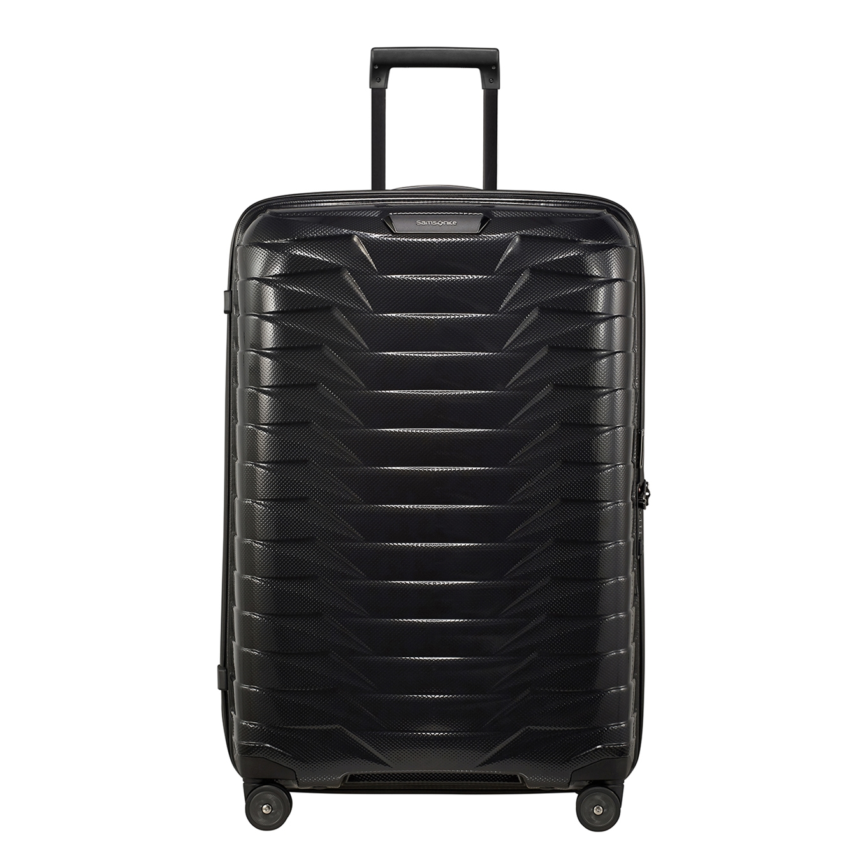 Samsonite Proxis Spinner 75 black Harde Koffer <br/></noscript><img class=