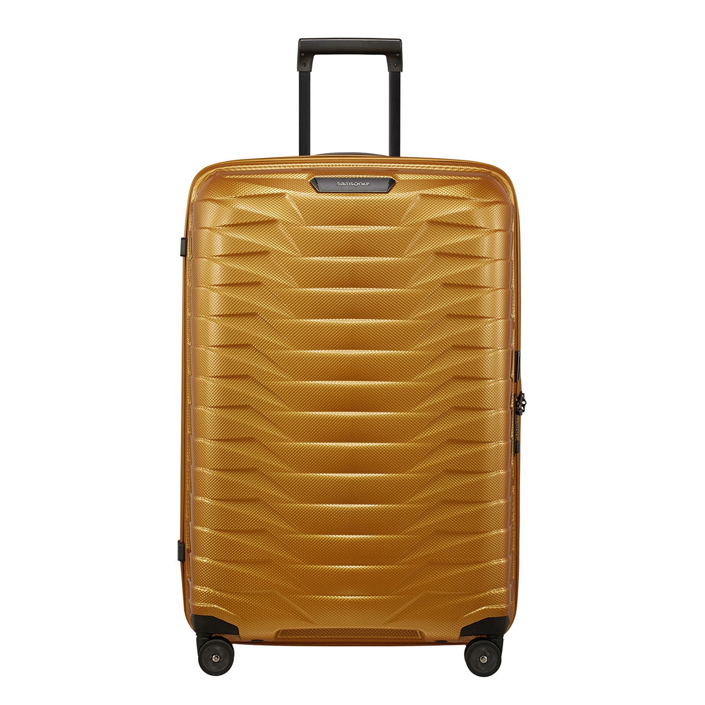 Samsonite Proxis Spinner 75 honey gold Harde Koffer <br/></noscript><img class=