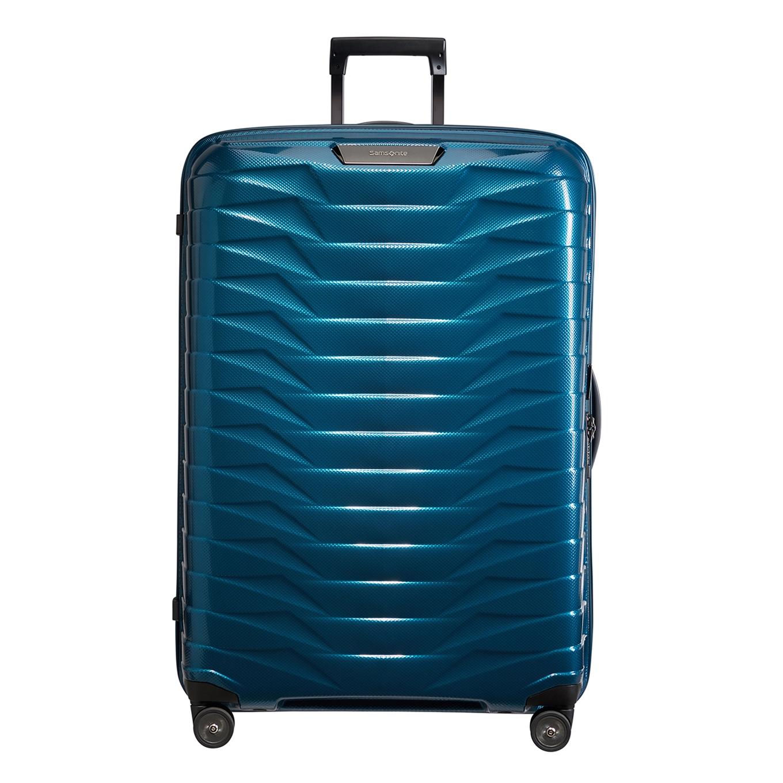 Samsonite Proxis Spinner 81 petrol blue Harde Koffer <br/></noscript><img class=