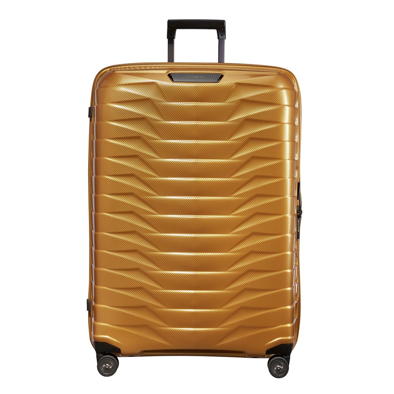 Samsonite Proxis Spinner 81 honey gold Harde Koffer <br/></noscript><img class=