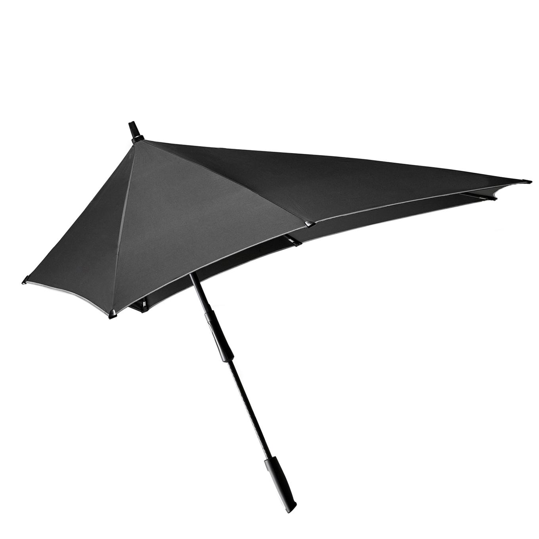 Senz XXL Stick Stormparaplu black reflective (Storm) Paraplu