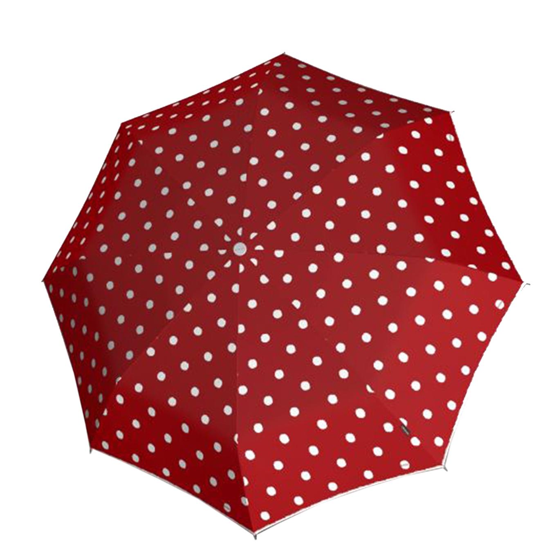 Knirps T-200 Medium Duomatic Paraplu dot art red (Storm) Paraplu