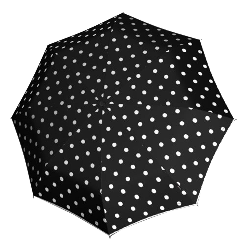Knirps T-703 Automatic Long Paraplu dot art black (Storm) Paraplu