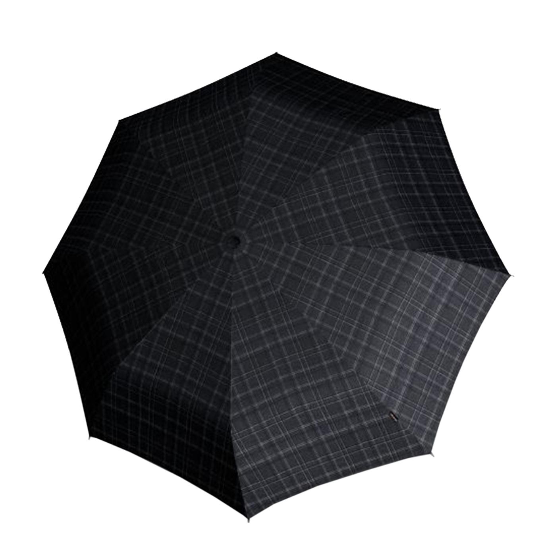 Knirps T-200 Medium Duomatic Paraplu checks black (Storm) Paraplu