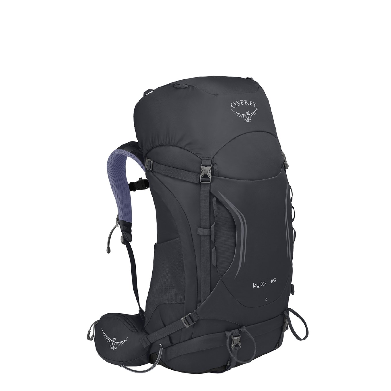 Osprey Kyte 46 Women&apos;s Backpack S/M siren grey backpack <br/></noscript><img class=